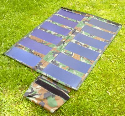 солнечная панель для туристов