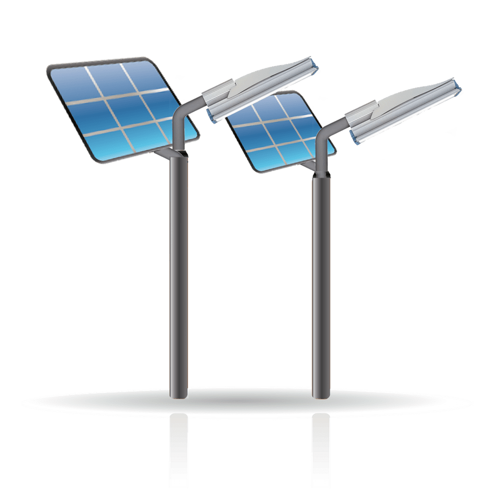 Уличные фонари и светильники на солнечных батареях