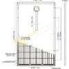 Размеры солнечной панели 250Вт