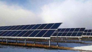 Первая солнечная электростанция запущена в Бурятии