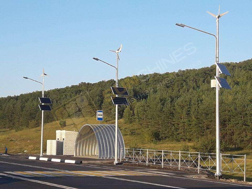 Автономный уличный светильник на солнечных батареях SL-20